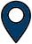 location icon blue