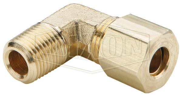 Compression 90° Male Elbow