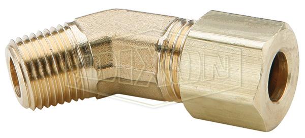 Compression 45° Male Elbow