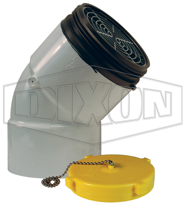 Dry Hydrant 45° Male Adapter