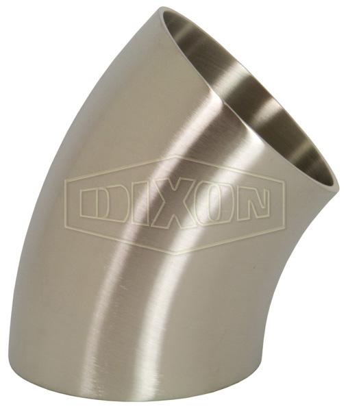 45° DIN 11852 Weld Elbow