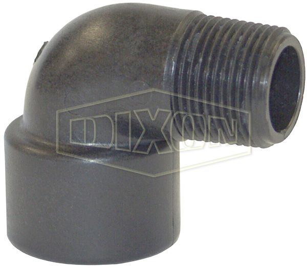 Schedule 80 Threaded Polypropylene 90° Street Elbow