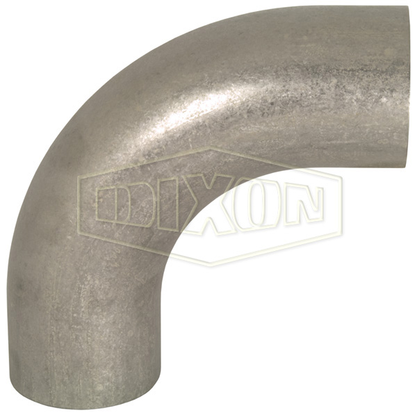 Unpolished 90° Weld Elbow with Tangent