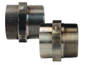 Dixon® Octagonal Nipple for Welding to Metal Hose