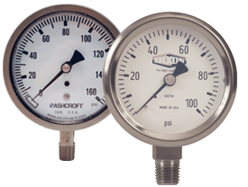 Stainless Steel Dry Gauge
