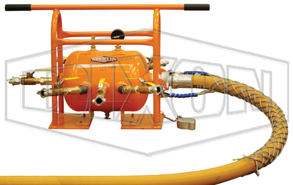 ASME Air Tank Receiver Manifold with King Safety Whipsock for Supply Hose