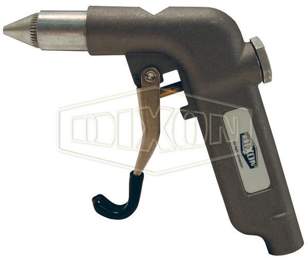 Heavy Duty-High Volume Blow Gun with Quiet Conical Tip