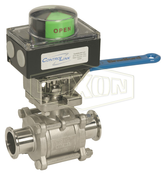Dixon® Manual Ball Valve with Remote Indication