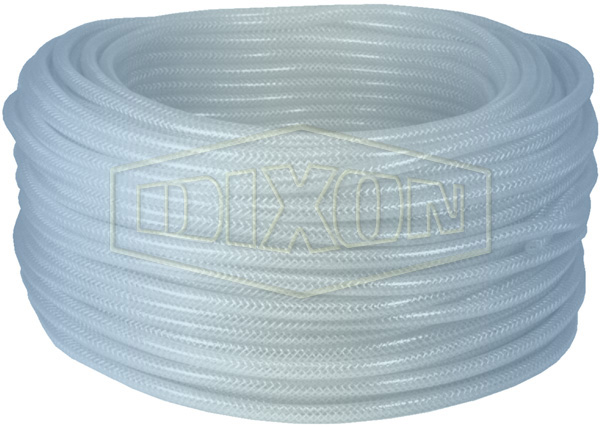 Imported Clear PVC Braided Tubing