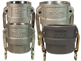 Dixon® Cam & Groove Type D Coupler x Female NPT