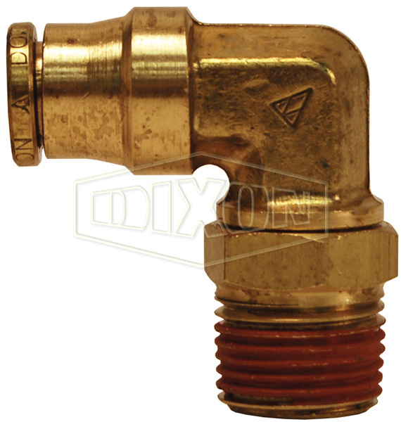D.O.T. Push-In Swivel Male Elbow
