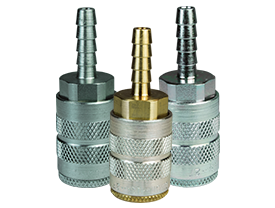 F-Series Pneumatic Manual Standard Hose Barb Coupler