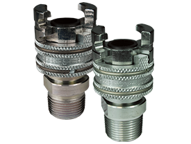 Dual-Lock™ P-Series Thor Interchange Male Thread Coupler