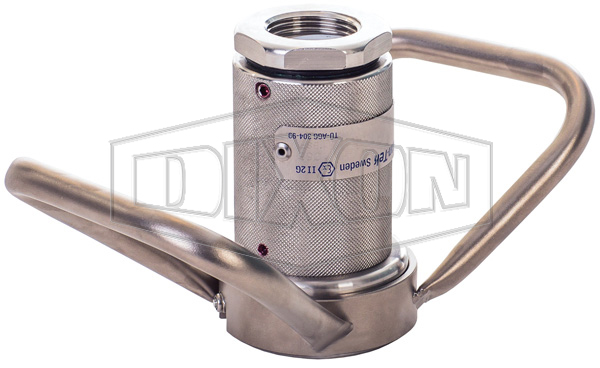 Mann Tek Dry Disconnect Steam Coupler x Female NPT