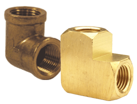90° NPT Female Pipe Elbow