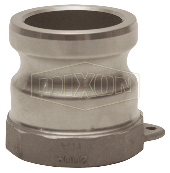 Cam & Groove Hastelloy® Type A Adapter x Female NPT
