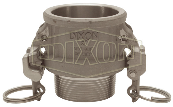Cam & Groove Hastelloy® Type B Coupler x Male NPT