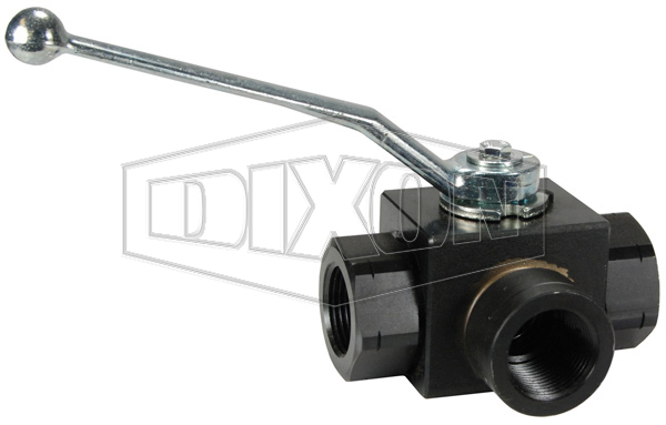 High Pressure Full-Bore 3-Way Ball Valve