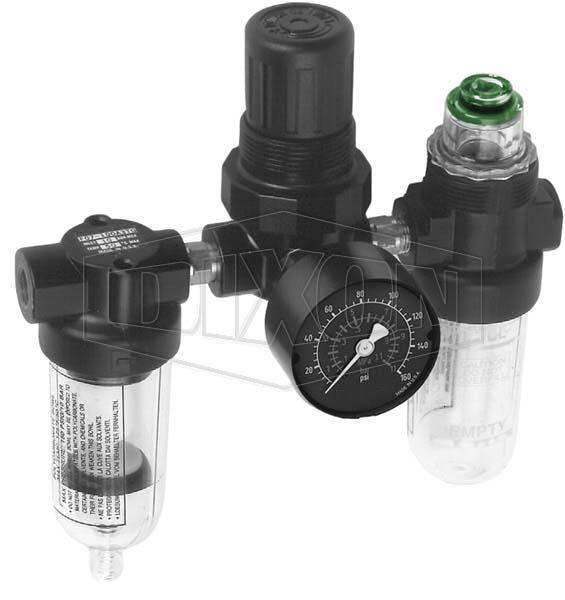 P1A Series 1 FRL's Miniature Combination Unit