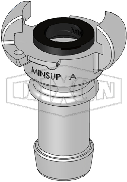 Minsup™ A Type Hose End