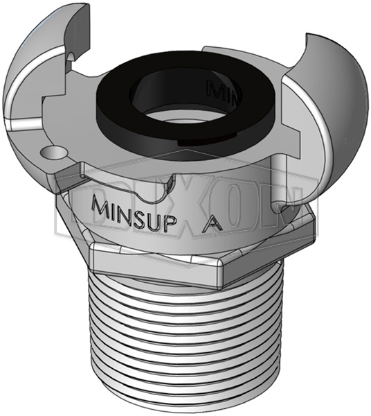 Minsup A Type Bellows Seal Male BSP End