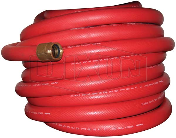 Non-collapsible Fire and Utility Hose