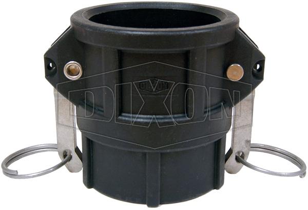 Polypropylene Cam & Groove Type D Coupler x Female BSP