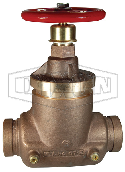 Factory Set Pressure Reducing Brass Globe Valve Grooved x Grooved