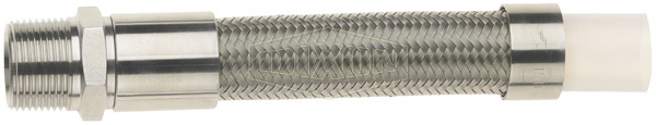 Smooth Bore PTFE with Stainless Steel Braid
