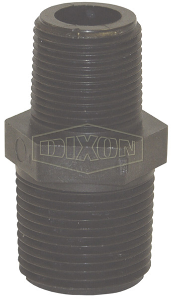 Schedule 80 Threaded Polypropylene Reducer Nipple