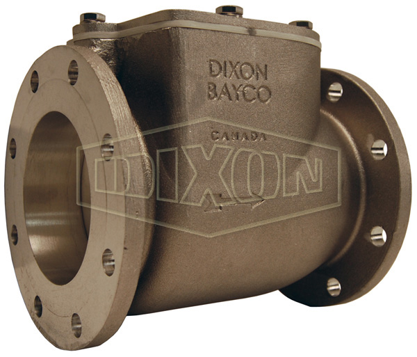 Bayco High Flow Series Swing Check Valve Round TTMA Flange