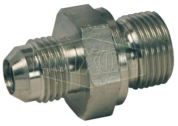British Thread Adapter Male JIC 37° Flare x Male BSPP