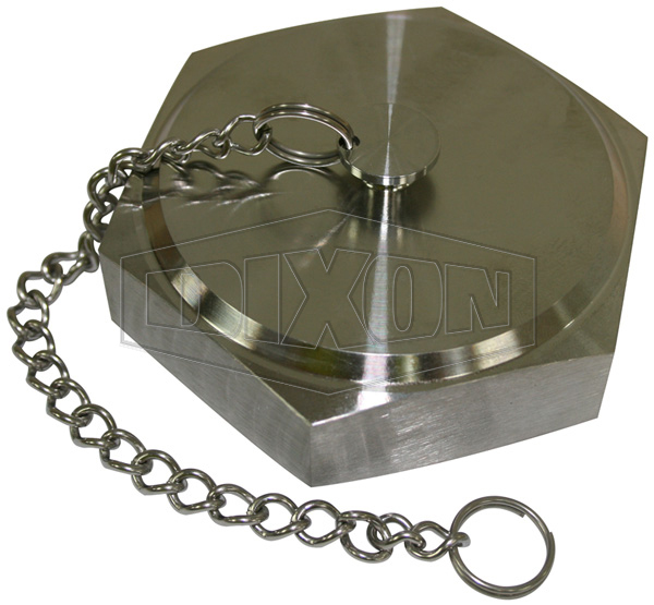 RJT Hex Blank Nut with Chain