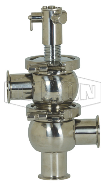 SV-Series Single Seat Hygienic Valve L/L Body Manual