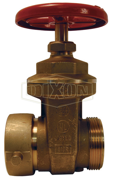 Single Hydrant Gate Valve Forged Brass with Hand Wheel