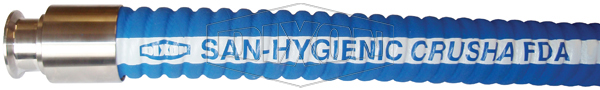 San-Hygienic Crusha Food Grade Suction & Delivery Hose