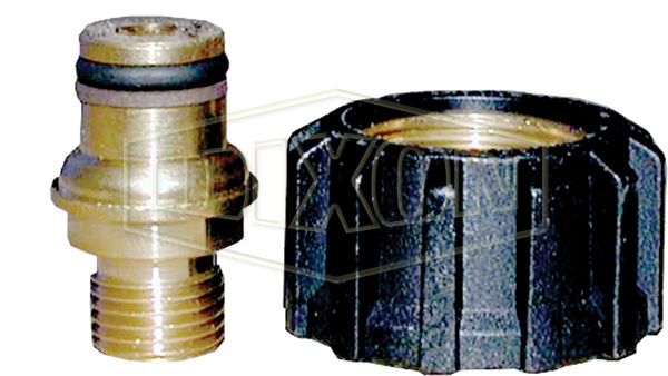Male x Swivel Quick Coupling