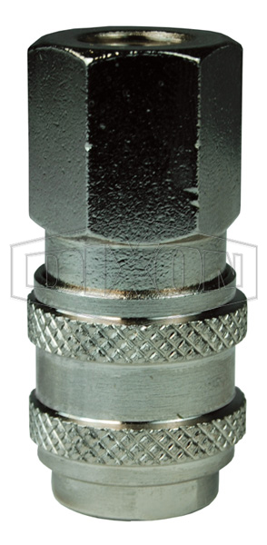 BR-Series Pneumatic Female Threaded Coupler