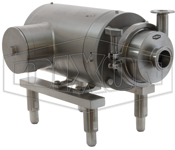 MB100 Series Sanitary Centrifugal Motor Pump Units Three Phase Power