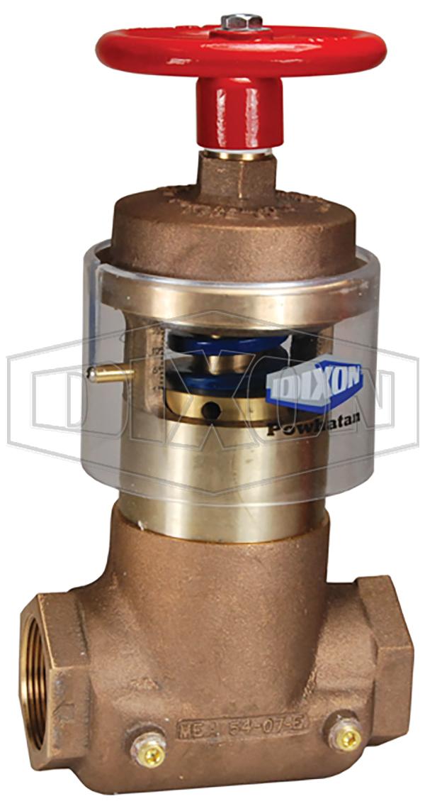 Field Adjustable Pressure Reducing Straight Valve