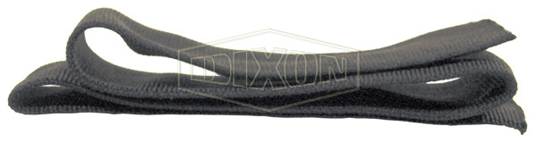 nylon protective sleeve black hydraulic and industrial hose