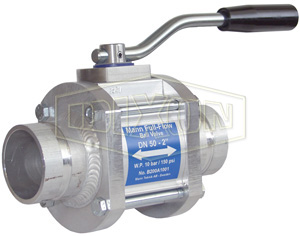 Dixon® One-Way Full Flow Ball Valve Grooved