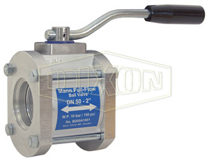 Dixon® One-Way Full Flow Ball Valve Socket Weld