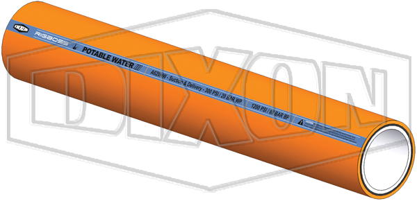 RIGBOSS™ A620 Hard Wall Hose | Potable Water