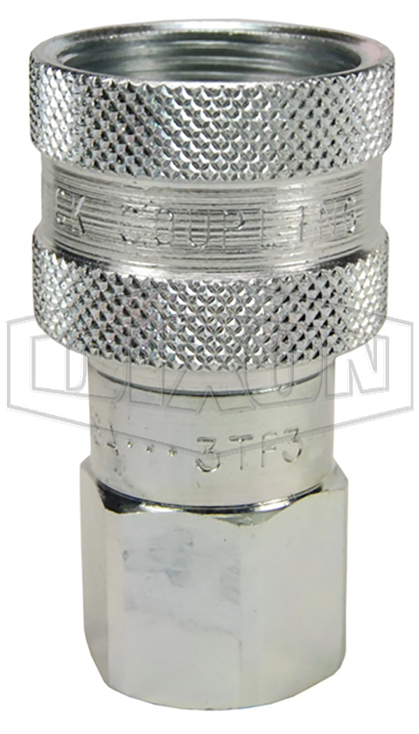 enerpac female nptf ball coupler t series hydraulic couplings quick disconnects