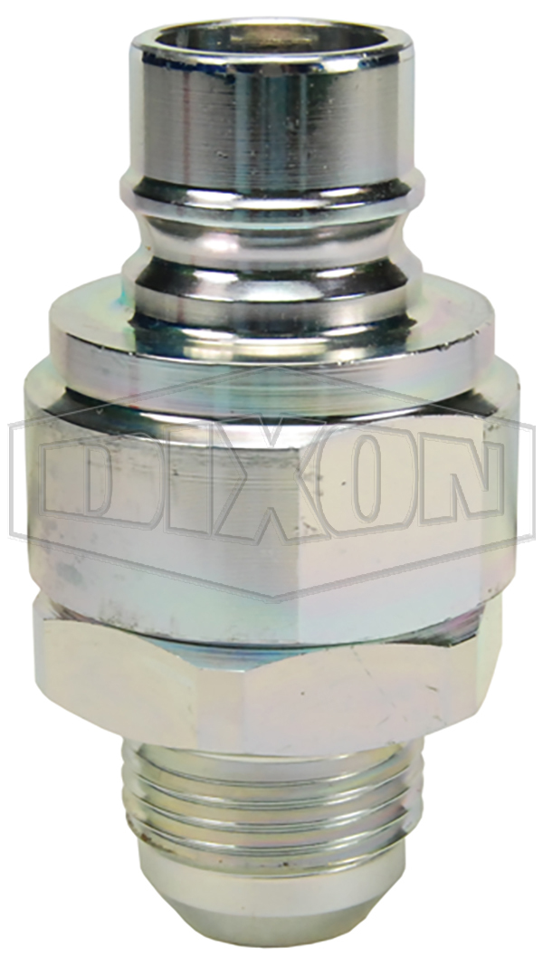 v series hydraulic couplings quick disconnects hydraulic fittings snap tite h ih interchange valved male threaded plug JIC