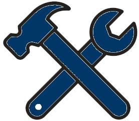 tools icon blue